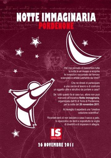 flyer - Immaginario Scientifico