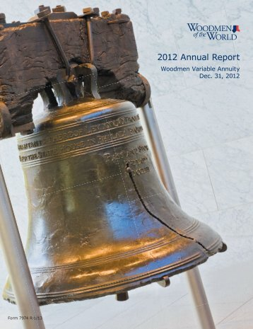 2012 Annual Report - Woodmen.org