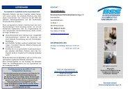 Info Flyer als Download - Bundesverband Schimmelpilzsanierung eV
