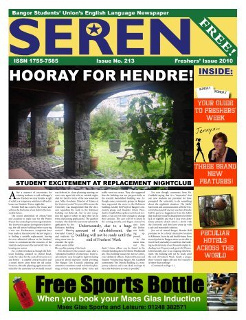 HOORAY FOR HENDRE! - Seren - Bangor University