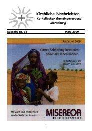 Ausgabe Nr. 18, März 2009 ( PDF -Datei, 237 kB) - Katholische ...