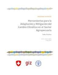 información - Proyecto de Seguros para la adaptación al cambio ...