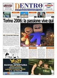 Torino 2006: la passione vive qui - La Voce del Nord Est Romano