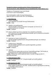 Protokoll fra ordinær generalforsamling i Solhaug ... - Herborvi.no