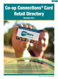 Co-op Connections® Card Retail Directory - CoServ.com