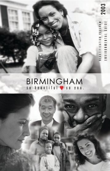 Environmental Guide - Birmingham