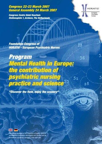 Horatio_Congress_Program.pdf - Oud Consultancy & Conference ...