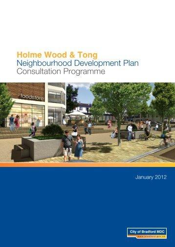 Holme Wood & Tong NDP Consultation Programme - Bradford ...