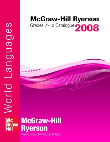 W orld Languages - McGraw-Hill Ryerson