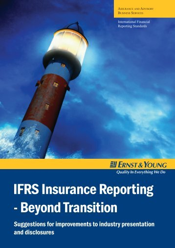 IFRS Insurance Reporting - Beyond Transition