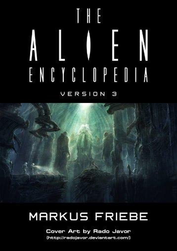 version 3 - The Alien Encyclopedia