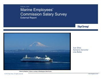 Marine Employees' Commission Salary Survey - Public Employment ...