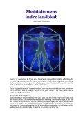 MEDITATIONENS INDRE LANDSKAB - Kenneth ... - Visdomsnettet - Page 3