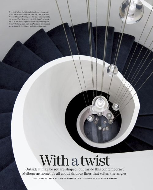 With a twist - Robert Mills Architects