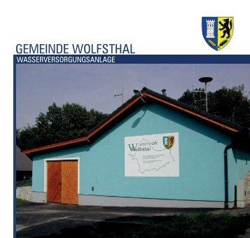 Broschüre - Wolfsthal
