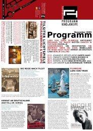Monat 11-2009.indd - Tilsiter Lichtspiele