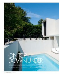 on top down under - Robert Mills Architects