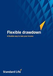 A guide to Flexible Drawdown ( 0.73MB, Code: slsip51 ) - Adviserzone