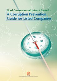 Corruption Prevention Guide for Listed Companies