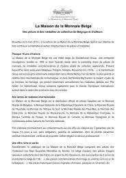 Communiqu - La Maison de la Monnaie Belge.pdf - Prezly