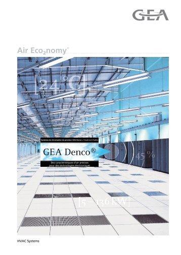 Brochure gamme Denco - GEA Happel Belgium