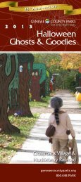 Halloween 2013 - Genesee County Parks and Recreation ...