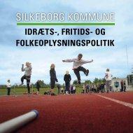 Idræts-, Fritids - Idrætsrådet Silkeborg Kommune