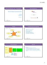 Effectstudie scholingstraject Competentiegericht Werken - Kennisplein