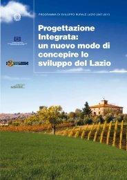 un nuovo modo di concepire lo sviluppo del Lazio - Agricoltura
