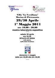 per sito - Agriturismi e Bed and breakfast in Italia
