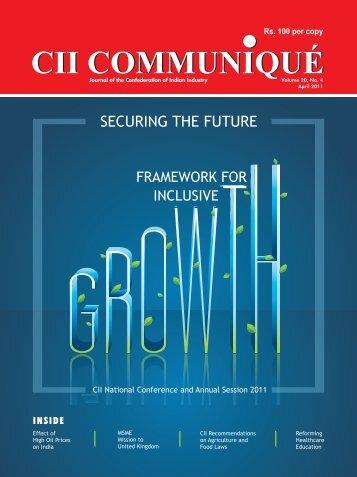 CII Communique April 2011