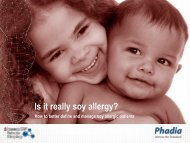 Is It Really soy allergy? - Phadia