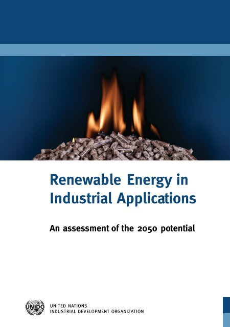 Renewable Energy in Industrial Applications – an ... - Unido