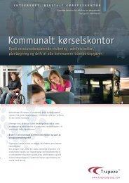 Kommunalt kørselskontor.indd - Trapeze Group