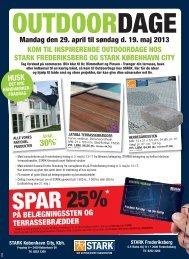 spar 25% * på belægningssten og terrassebrædder - Stark