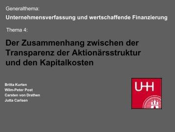 Folien IV - Universität Hamburg