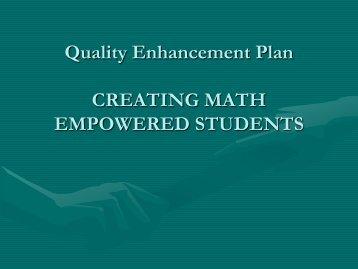 MATH EMPOWERED - Cedar Valley College
