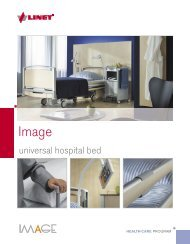 universal hospital bed - Linet