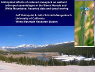 anticipated effects of climate change on meadow arthropod ...