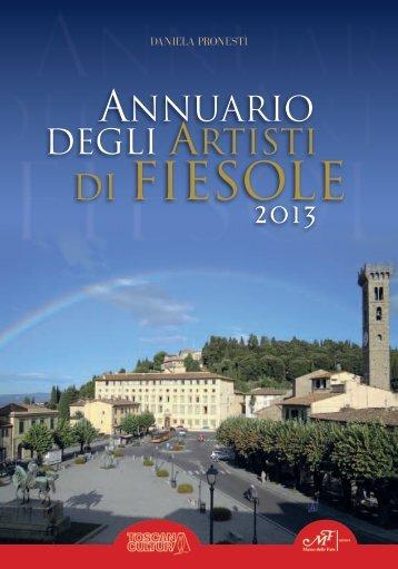 Annuario degli Artisti di Fiesole 2013