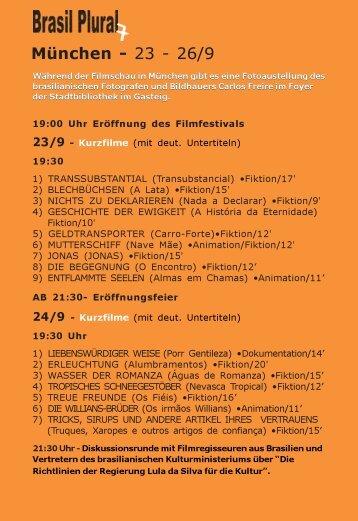 München 23.9 - Brasil Plural