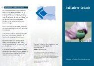 Palliatieve Sedatie - Federatie Palliatieve Zorg Vlaanderen vzw