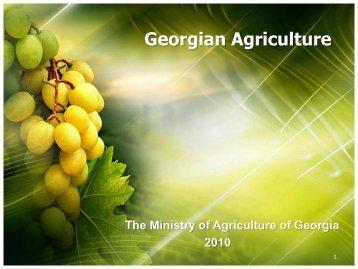 Georgian Agriculture