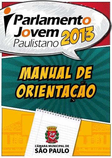 parlamento jovem paulistano - 2013