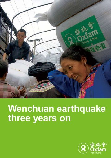 5.12 Wenchuan earthquake three years on report (PDF 0.9MB)