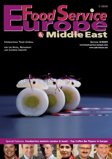 Please click here for the full article - Food Service Europe