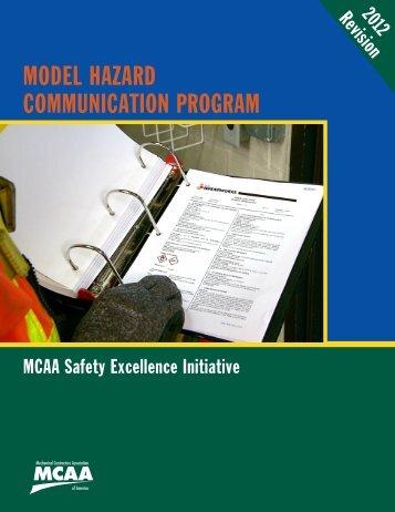 Model Hazard Communication Program - Mechanical Contractors ...