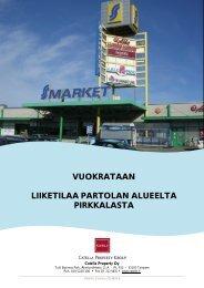 vuokrataan liiketilaa partolan alueelta pirkkalasta - Toimitilat.fi