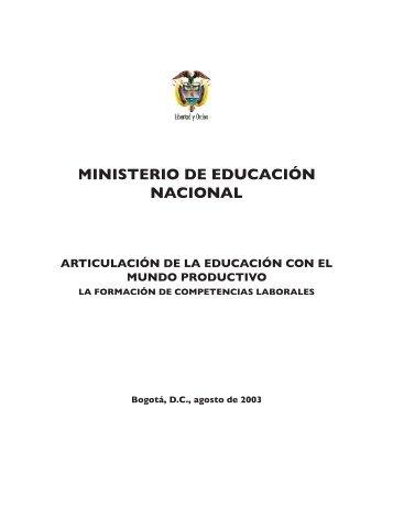 Normatividad - Ministerio de Educación Nacional