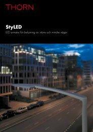 StyLED LED Armatur För Belysning Av Större Och - Thorn